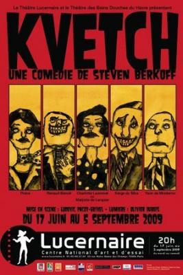 Kvetch au Lucernaire