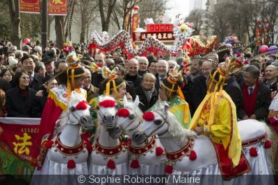 Défilé du Nouvel an Chinois 2015 dans le 13e arrondissement de Paris