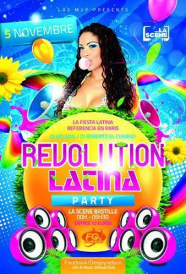 REVOLUTION LATINO PARTY