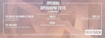 OPENING APÉROBPM 2015 BY NEWTRACK
