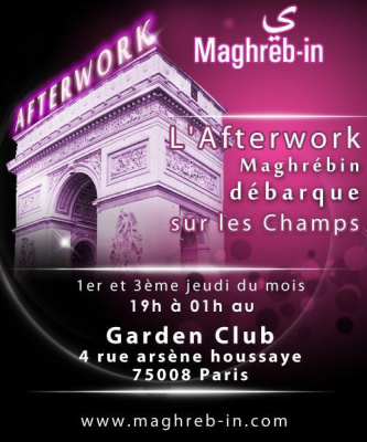 AFTERWORK CHIC ET MAGHREBIN