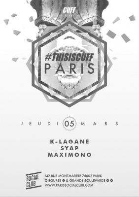 #THISISCUFF Paris