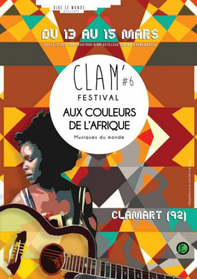 /// CLAM FESTIVAL # 6  /// Aux couleurs de l'Afrique de l'Ouest