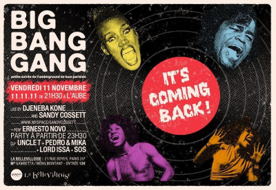 "BIG BANG GANG PARTY: 11.11.11 "" It's coming Back"""