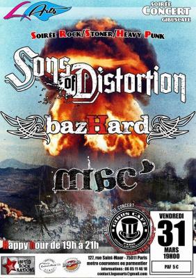 Sons Of Distorsion / Bazhard / Mac