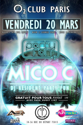 Party Fun @ l'O2 Club Paris