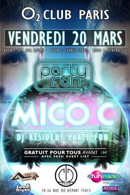 Party Fun @ l'O2 Club Paris