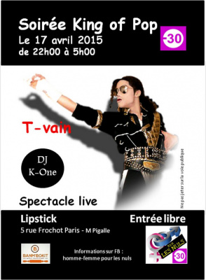 Soirée King of Pop