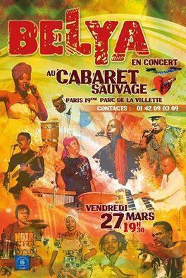 Concert du groupe martniquais Bélya