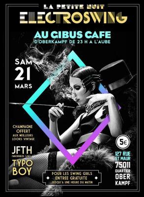 LA PETITE NUIT ELECTROSWING – SAM 21 MARS 2015 AU GIBUS CAFE