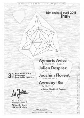 LA PASSERELLE #1 - AYMERIC AVICE & AVREEAYL RA