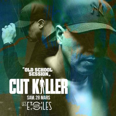 CUT KILLER dans LES ETOILES (Old School Session)