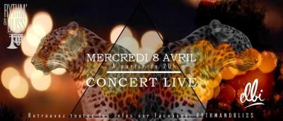 CONCERT LIVE ELBI + JAM SESSION au RYTHM N' BLISS / ENTREE GRATUITE