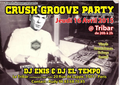 CRUSH GROOVE PARTY