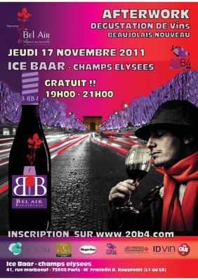 Soirée 20B4 [Vin Before] Vignerons de Bel Air