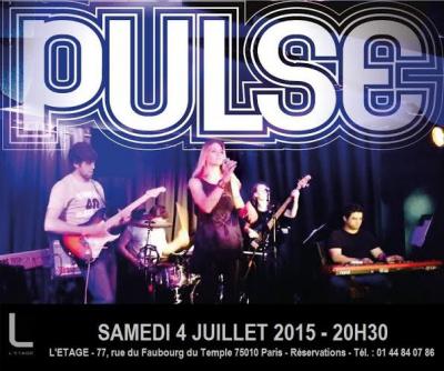 Pulse : concert à l'Etage