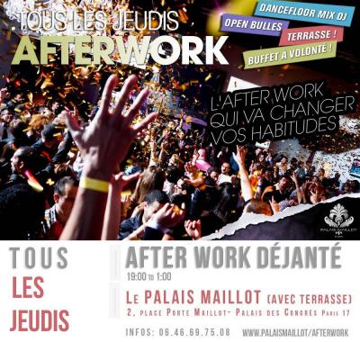 After Work en Terrasse au Palais Maillot