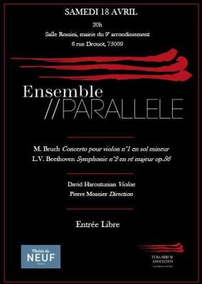 L'Ensemble//Parallèle joue Bruch et Beethoven