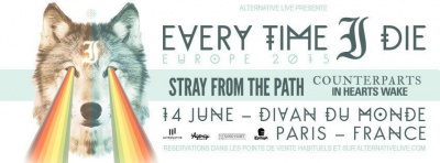 Every Time I Die + Stray From The Path