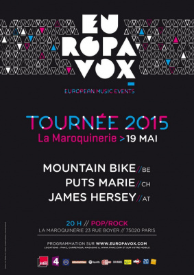 SOIREE EUROPAVOX MOUNTAIN BIKE + PUTS MARIE + JAMES HERSEY