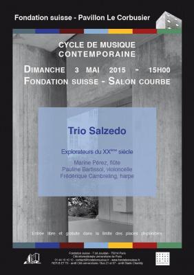 Trio Salzedo - Explorateurs du XXème siècle