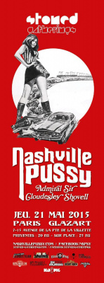 NASHVILLE PUSSY + THE ADMIRAL SIR CLOUDESLEY SHOVELL