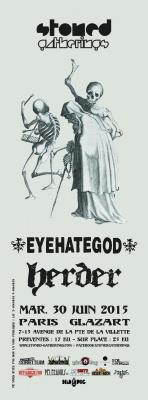 EYEHATEGOD + HERDER + GUEST