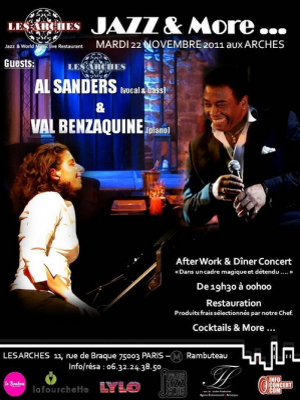 After work / Diner concert - Jazz & More -  Al Sanders