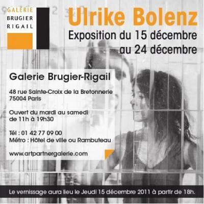 Vernissage et exposition d'art contemporain de l'artiste Ulrick Bolenz