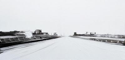 Exposition Jean-Marc Dallanegra / Des Routes. Du Blanc. Evidemment.