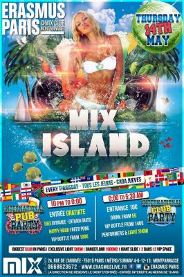 Erasmus Paris : Mix Island