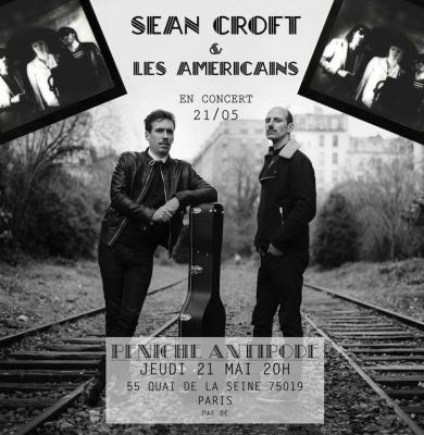Concert Sean Croft & Les Américains