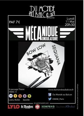 Concert Pop-Rock le 11 mai à la Mécanique Ondulatoire