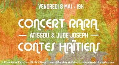Concert Rara & Lecture de contes haïtiens -  Atissou & Jude Joseph