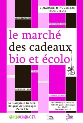 Le Marché des Cadeaux Bio et Ecolo