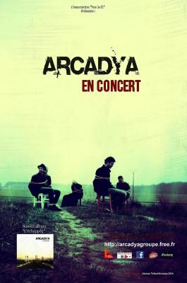 Concert d'Arcadya (pop/rock français)