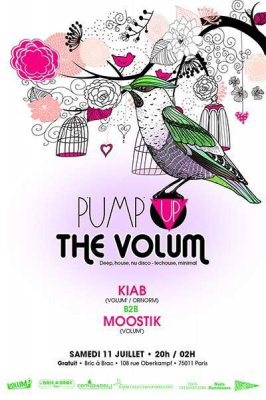 Pump Up The Volum' (juillet 2015)