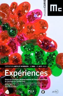 L'exposition Expériences dans le jardin du Musée Curie