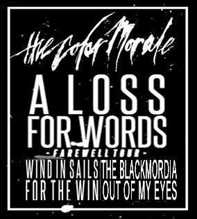 The Color Morale + A Loss For Words