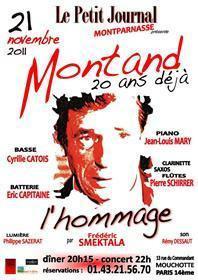 Yves Montand 20 ans déjà