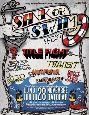 28/11 : Title Fight + Transit  + ... @ Batofar Paris (75)