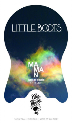 Maman Records back to Pigalle -> LITTLE BOOTS