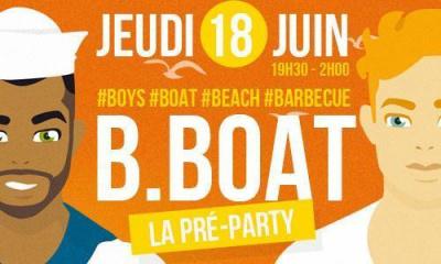 B Boat Saison 2 : La pré party avec Louisy Joseph