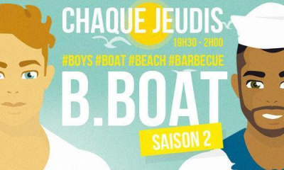 Bboat: l'afterwork gay de l'été, Boys, Beach, Boat, BBQ