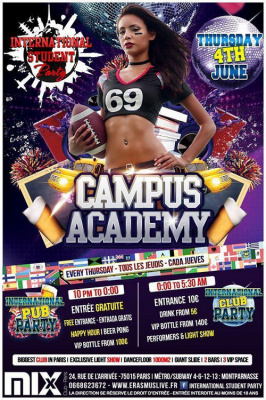 International Student Party : Campus Academy