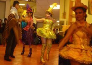 Peña bolivienne, soirée dansante