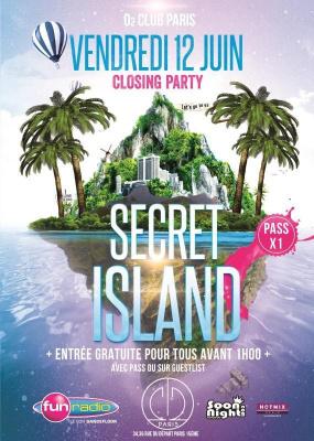 Secret Island - Entrée gratuite