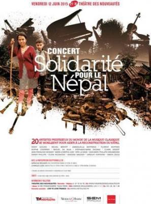 """Concert classique """"Solidarité pour le Népal"""""""