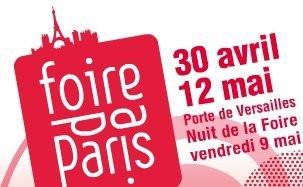 Foire de Paris 2008, 30 avril - 12 mai,  Paris Porte de Versailles.