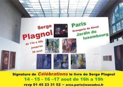 Exposition, Sortiraparis, Culture, Arts, Serge Plagnol, Orangerie, Sénat